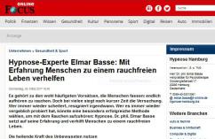 Nichtraucher mit Hypnose Hamburg Dr. phil. Elmar Basse